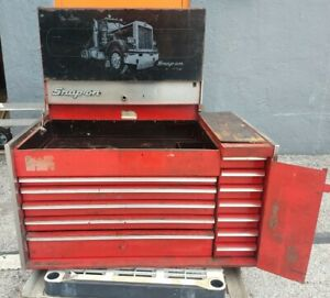Snap On Vintage Tool Box Toolbox Rare Edition Truck Artwork