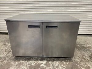2 Door Under Counter Refrigerator Nsf Cooler Delfield Uc4048p 4496 Stainless St