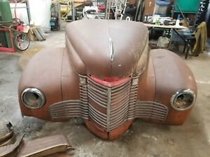 1941 1949 International Kb2 Pickup Front Clip Shipping Included See Description