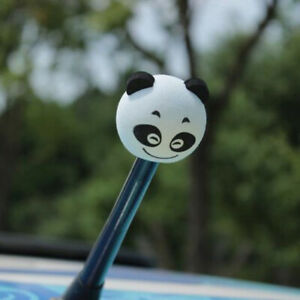 Cute Panda Car Antenna Aerial Ball Eva Topper Truck Suv Pen Decor Gift Toy Uk Ma