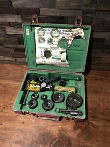 Greenlee 7906sb Quick Draw 90 Hydraulic Punch Driver Set Kit 1 2 To 2