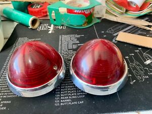 1953 Buick Taillights Special Super And Roadmaster Guide R4 53 With Housings
