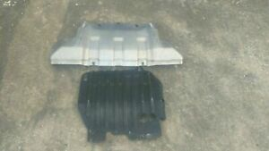 06 10 Hummer H3 Front Rear Engine Under Carriage Skid Plate Guard Panel Oem