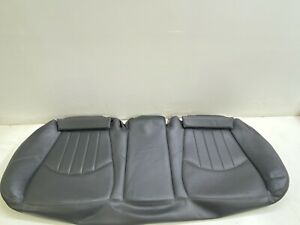 03 06 Mercedes W211 E55 Amg Rear Bottom Lower Seat Cushion Black Oem