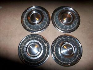 Nos 1960 1964 Chevy Corvair 13 Wire Hubcaps 1961 1962 1963 60 61 62 63 64