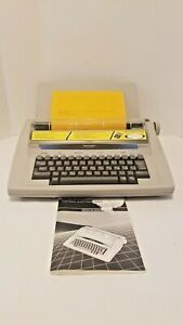 Sharp Pa 4000 Portable Electronic Typewriter With Manual Tested And Working