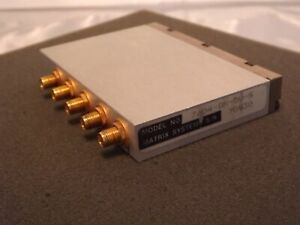 Matrix Systems 7604 dr 50 s Sma Relay Rf Switch Module Nos