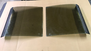 87 88 Ford Fox Body Mustang Factory T top Glass Panels T Top 79 86 With Key