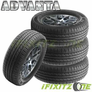 4 Advanta Er 700 215 60r16 95v All Season Performance Tires 45k Mileage Warranty