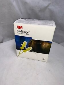 400 Pair 3m Tri flange Corded Earplugs P3000 Hearing Protection Nrr 26 Usa
