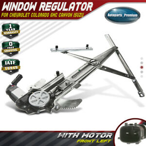 Power Window Regulator With Motor For Chevy Colorado Gmc Canyon 04 12 Front Left