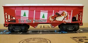 K Line K621-5101 Coca Cola 2000 Holiday Hopper Car Good Boxed Condition