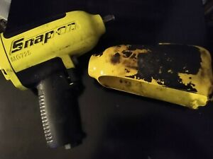 Snap On Mg725 1 2 Air Impact Gun Rare Yellow Color