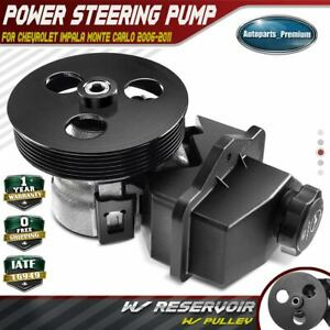Power Steering Pump W Pulley For Chevrolet Impala Monte Carlo 20 69989