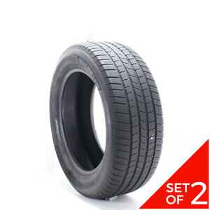 Set Of 2 Used 275 55r20 Michelin Defender Ltx M s 113t 6 7 32
