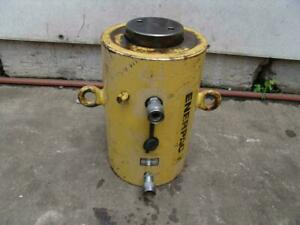 Enerpac 200 Ton 6 Inch Stroke Double Acting Hydraulic Cylinder Works Fine