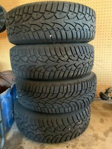 Used Volvo Wheels With Winter Tires