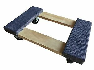 Furniture Moving Dolly 12 X 18 Movers Heavy Duty Caster Appliane Professiona