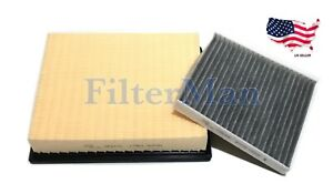 Engine And Carbonized Cabin Air Filter For 2016 2020 Toyota Tacoma V6 Us Seller