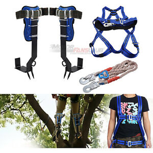 Motorfansclub Tree Climbing Tool Come With Safe Belt Stainless Steel Us Stock