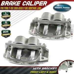 2x Brake Calipers For Ford F 150 1999 2003 F 150 Heritage Front Left Right