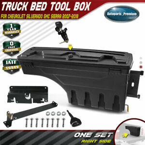 Truck Bed Storage Box Toolbox Passenger For Chevy Silverado Gmc Sierra 2007 2018
