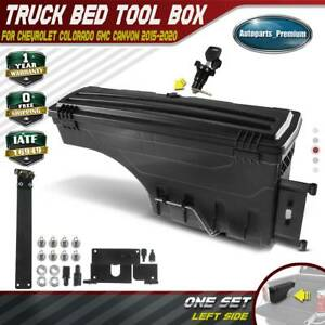 Truck Bed Storage Box Toolbox For Chevy Colorado Gmc Canyon 15 20 Driver Side