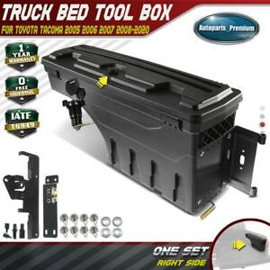 Truck Bed Storage Box Toolbox For Toyota Tacoma 2005 2020 Passenger Right Side