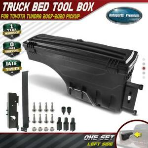 Truck Bed Storage Box Toolbox For Toyota Tundra 2007 2020 Rear Left Driver Side