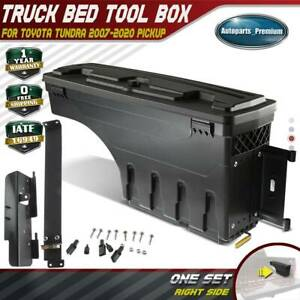 Truck Bed Storage Box Toolbox For Toyota Tundra 2007 2020 Rear Right Passenger
