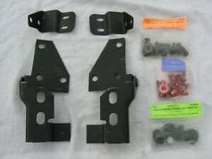 1967 1970 Mustang Fastback Non Fold Down Rear Seat Panel Hinges Brackets Bolts