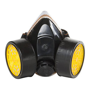 Half Face Painting Spraying Respirator Gas Mask With Dual Elastic Strap Unisex