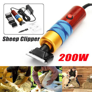 Sheep Goat Shearing Clipper Animal Shave Grooming Electric Farm Supplies 200w