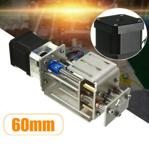 Us Z Axis Slide 3 Axis 60mm Diy Milling Linear Motion Cnc Engraving Machine