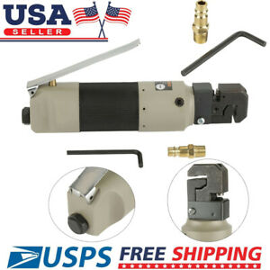 Pneumatic Sheet Metal Flange Punch Air Punching Tool Hole With Connector Us