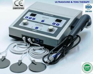 Electrotherapy Ultrasound Therapy Physical Therapy Deep Heat Combo Therapy Unit