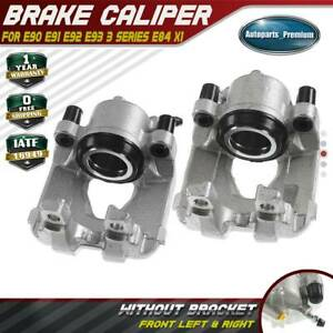 2x Brake Caliper For Bmw E84 E90 E91 E92 E93 X1 323i 325i 328 Front Left Right
