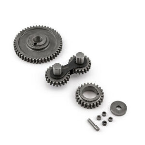 Ford 302 351c Cleveland Dual Idler Noisey Timing Gear Drive Set