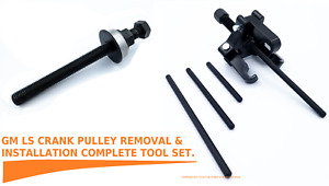 Ls Crank Pulley Removal And Installation Tool Set Harmonic Balancer Fits Gm Ls
