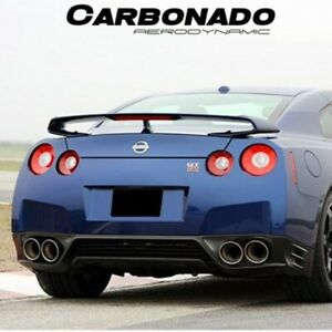 2012 2013 Gtr R35 Oe Style Carbon Fiber Rear Diffuser Lip Body Kit For Nissan