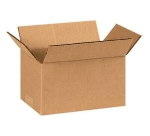 10 600 7x7x3 Cardboard Packing Mailing Shipping Corrugated Box Cartons Moving