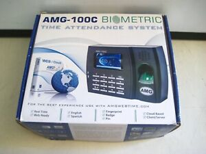 Amg 100 c Biometric Fingerprint Time Clock Attendance System