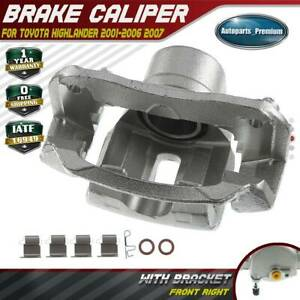 Disc Brake Caliper With Bracket For Toyota Highlander 2001 2006 2007 Front Right