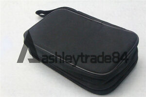 Double Layer Zipper Carrying Case Fluke Multimeters 175 15b 17b 18b 115 116 117