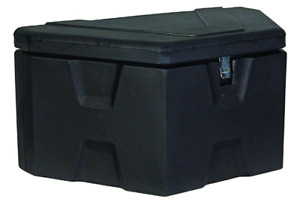 Tool Box Trailer Tongue Black Polymer Durable Lightweight Polyethylene 36 In