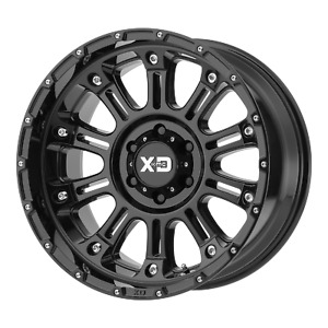 Kmc Xd Series Wheels Hoss Ii 22x12 8x165 10 Gloss Black 44 Mm Wheel