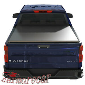 5 Ft Short Truck Bed Tonneau Cover Soft Tri Fold For Ford Ranger 2014 2018
