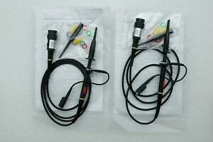 2x 200mhz Oscilloscope Scope Analyzer Clip Probe Test Leads Kit For Hp Tektronix