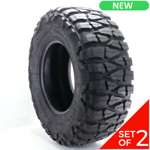 Set Of 2 New Lt 35x12 5r17 Nitto Extreme Terrain Mud Grappler 125p 20 32