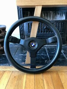 Momo Cavallino C38 Steering Wheel 380mm With Horn Pad Bmw Button Rare Size
